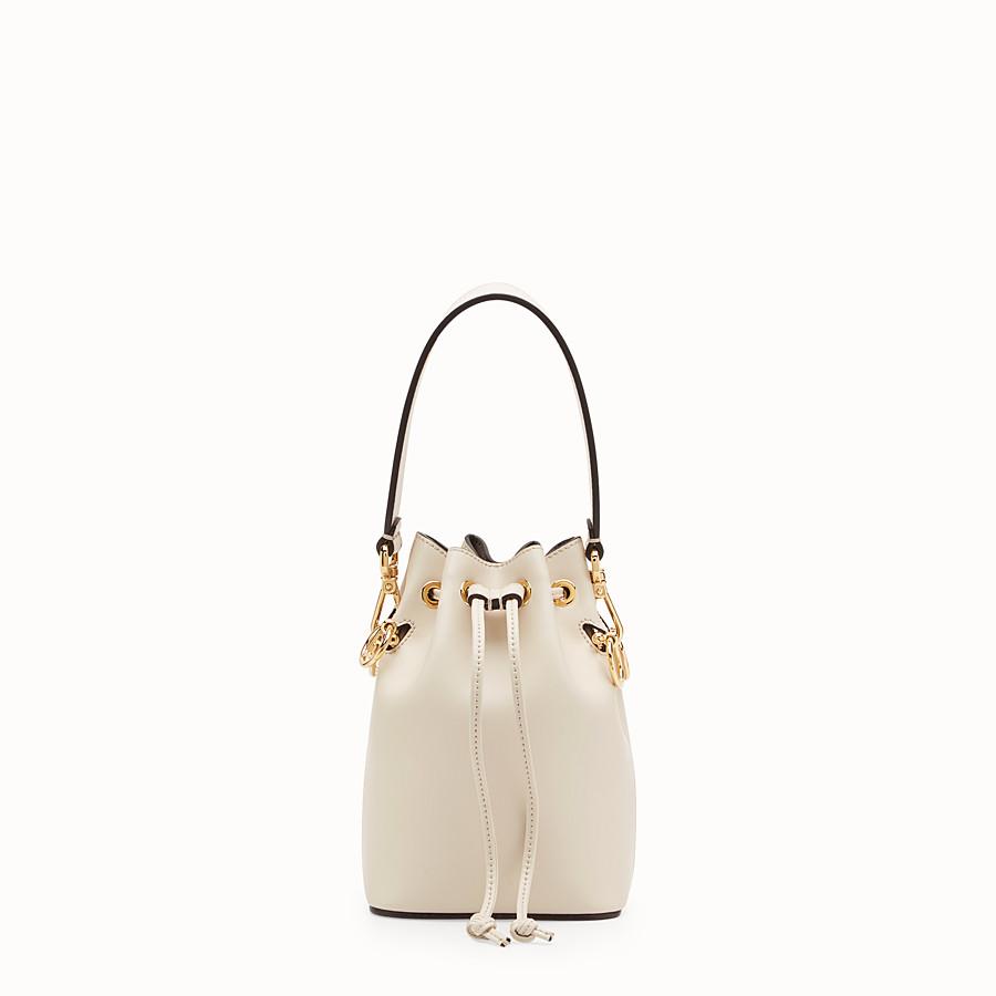 FENDI 【FENDI】MON TRESOR White leather mini-bag
