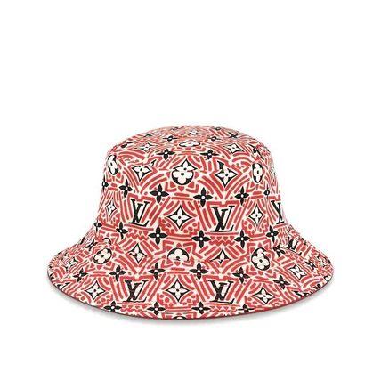 Louis Vuitton Louis Vuitton ☆M76536 ☆LV CRAFTY REVERSIBLE BUCKET HAT